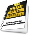 Free Internet Marketing Resources eBook