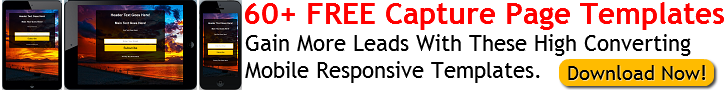 60+ Free Capture Page Templates